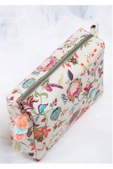 Anaar Aur Mor Large Toiletry Bag
