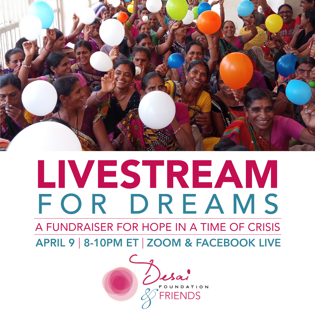 LiveStream for Dreams: A Fundraiser for Hope at a Time of Crisis